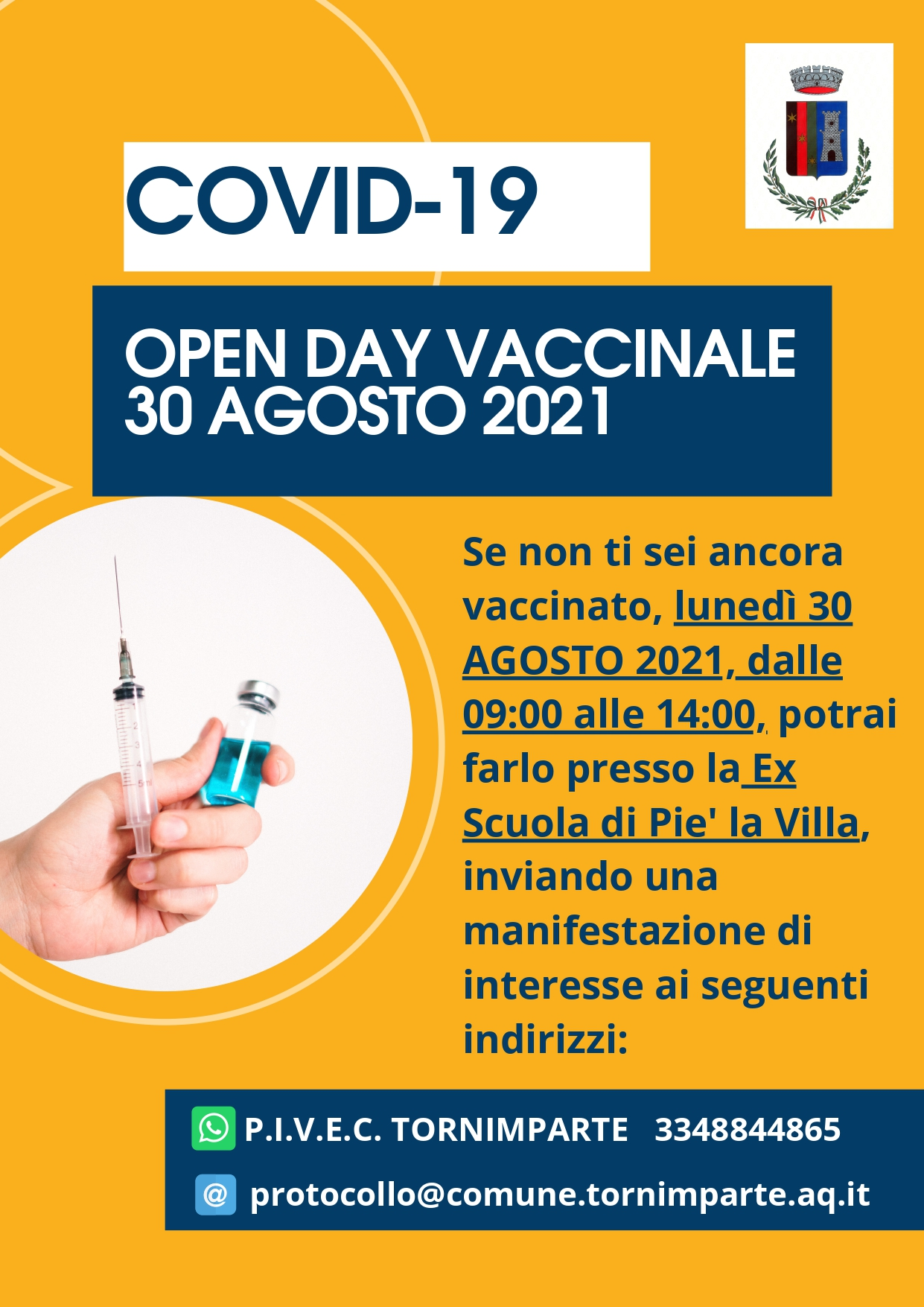 OPEN DAY VACCINALE